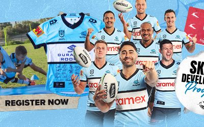 2021 Sharks Skills Development Program & The Chance to WIN a Signed Jersey!